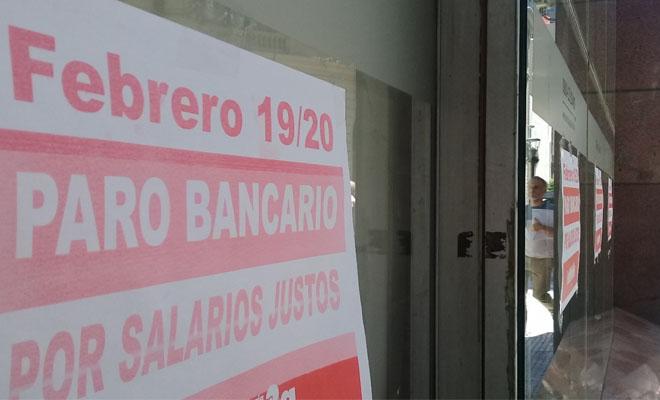 Elparo bancario en San Luis es total