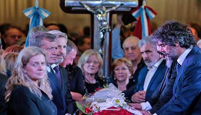 El Vicegobernador estuvo en el último adiós a José Manuel de la Sota